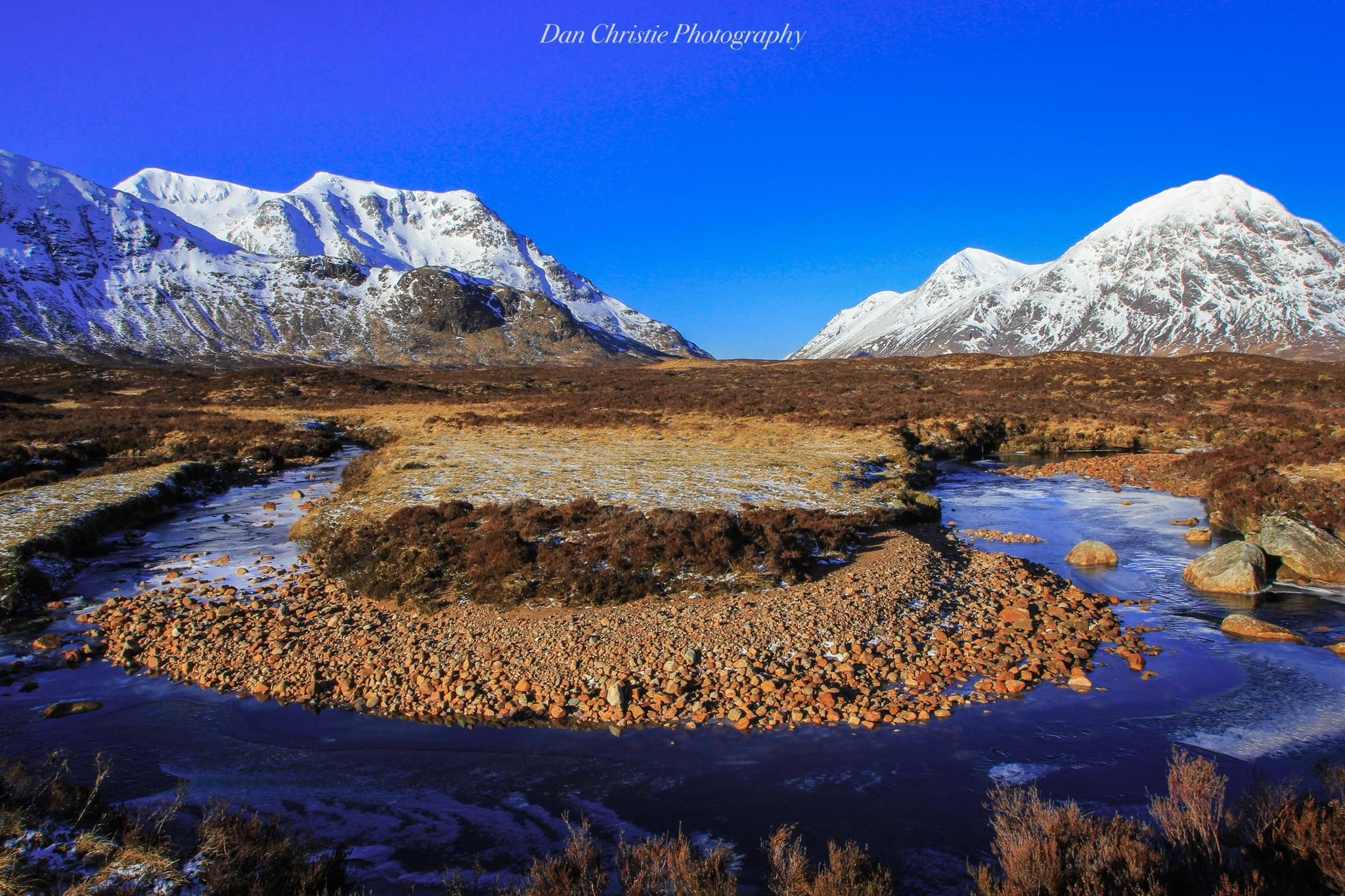 Buchaille Etive Mor In Rannoch Moor The Way To Glencoe By Dan Christie Photography