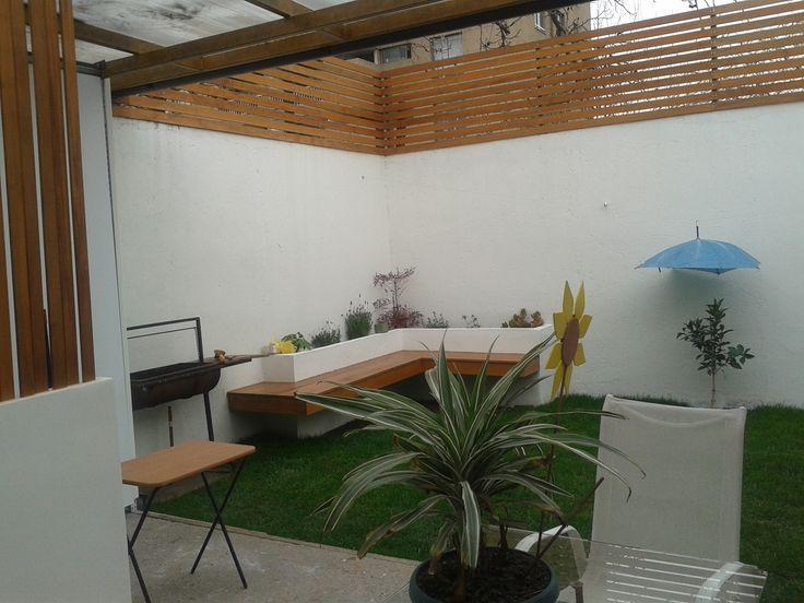 Resultado de imagen para como arreglar patios peque os for Decoracion patio pequeno