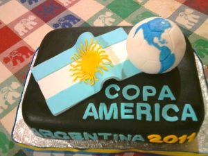 TORTA COPA AMERICA ARGENTINA 2011.