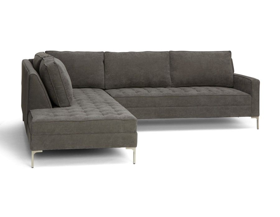 Astonishing Structube Miami Sectional Sofa Left Grey Home Download Free Architecture Designs Scobabritishbridgeorg