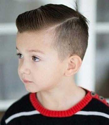 Rambut Pendek Fade Belahan Pinggir Untuk Anak Gaya Rambut Anak Laki Laki Gaya Rambut Ide Potongan Rambut