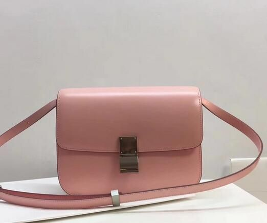 a0c6a446e0 Limited Edition!2017 Celine Bags Outlet-Celine Classic Box in pink ...