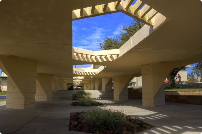 Architecture · Esplanades, Florida Southern College.