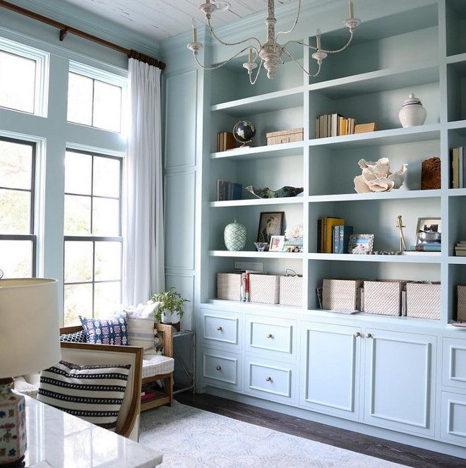 Benjamin Moore Colors For Your Living Room Decor: Benjamin Moore HC-147 Woodlawn Blue