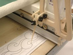 Grace The Sy Lite Frame On American Sewing Quilting