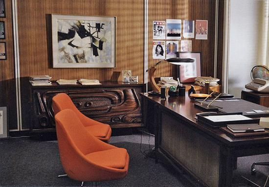 mad men won many plaudits for the fashion sense of main protagonists most notably office furniture