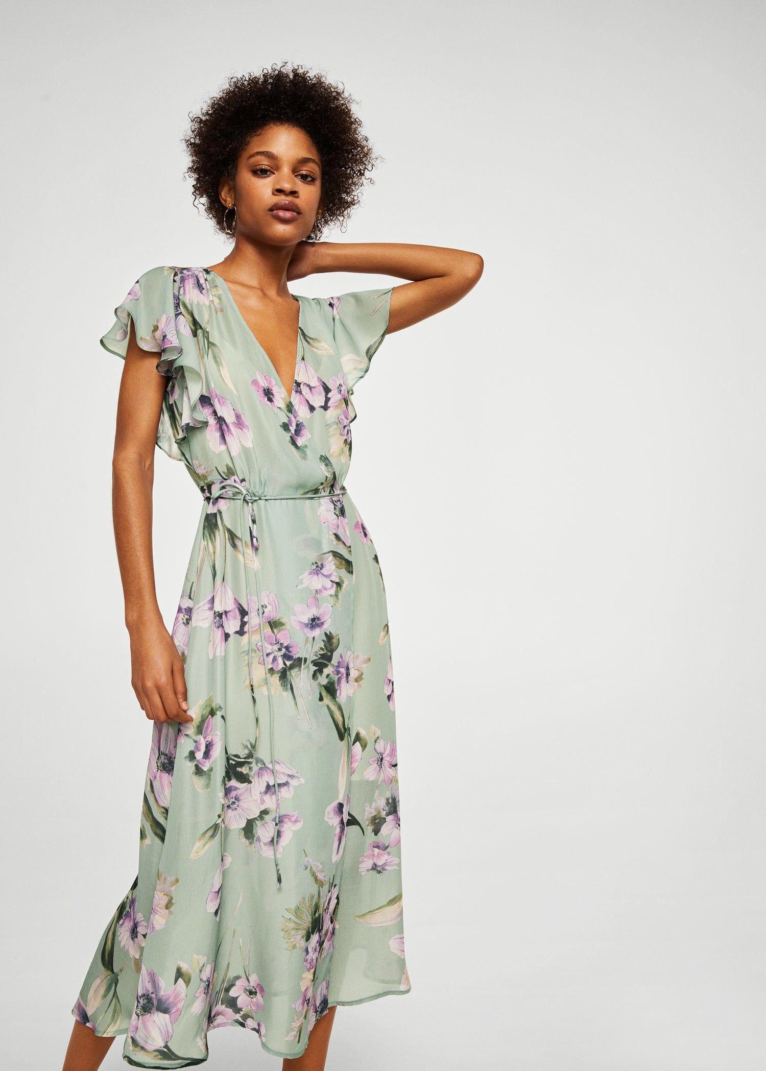 c0aa100f088 Mango Flower Print Dress - 6