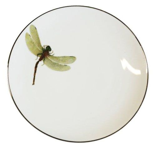 Plate DRAGONFLY . Fabienne Jouvin for Asiatides