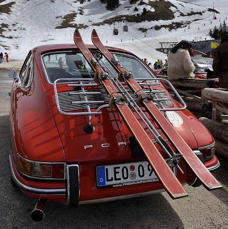 Le Grand Mag At The Snow Polo Saint Moritz 2018 As Official Mediapartner Le Grand Mag Classic Porsche Vintage Porsche Porsche Sports Car