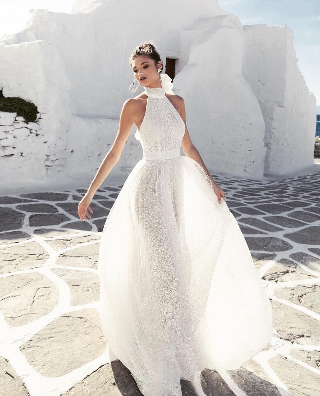 Mai Bridal Treasures On Instagram Summer Brides This Simple But Elegant Wedding Dress From Romanzo By Jul Wedding Dresses Ball Gowns Wedding Bridal Dresses [ 1335 x 1080 Pixel ]