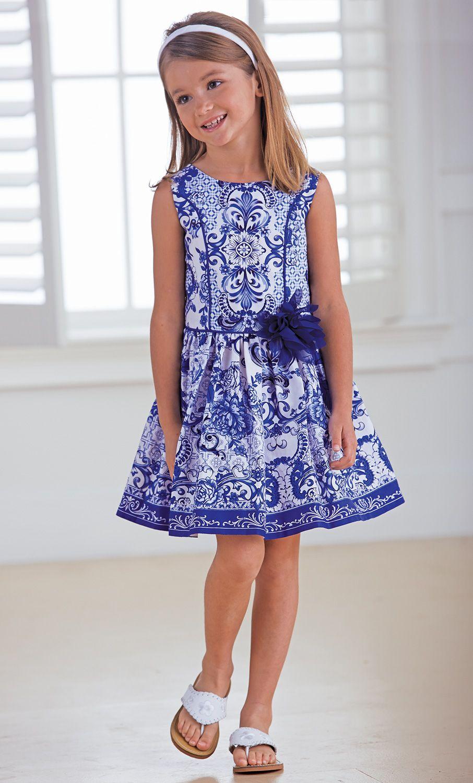 From CWDkids: Porcelain Print Dress | Nombre de tablero | Pinterest ...