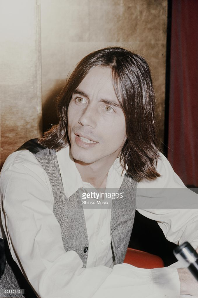 Sigh - I sure remember those days... Jackson Browne press conference on his visit to Japan, Tokyo, March 1977.