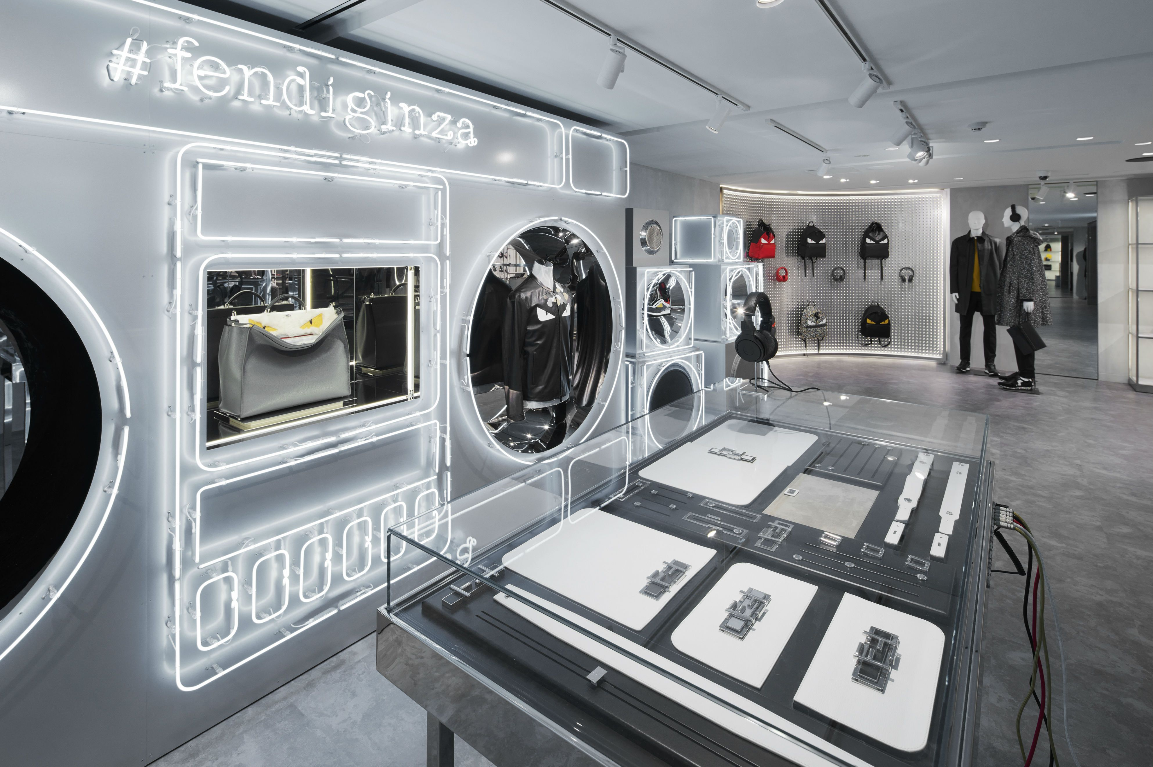 505ee729337 The playful Fendi Ginza pop-up store in Tokyo.