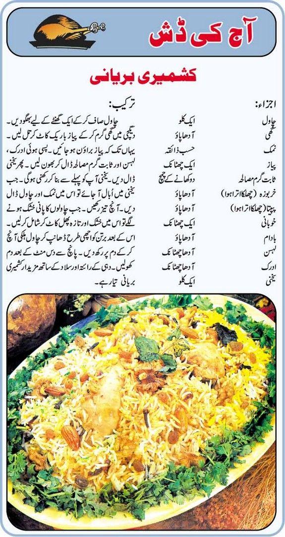 How to cook kashmiri biryani recipe in urdu food recipes how to cook kashmiri biryani recipe in urdu forumfinder Gallery
