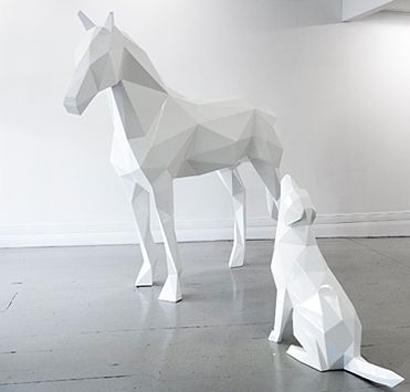 the White Horse and Golden Boy by Ben Foster 2013