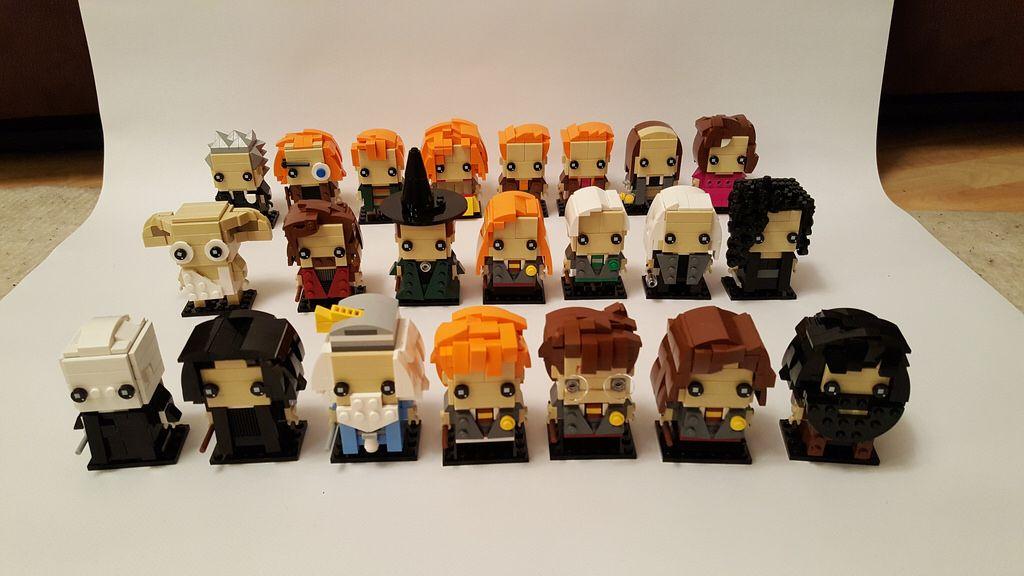 Harry Potter Brickheadz Lego Harry Potter Lego Harry Potter Moc Harry Potter Advent Calendar