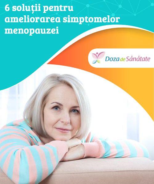 Simptomele neplăcute ale menopauzei