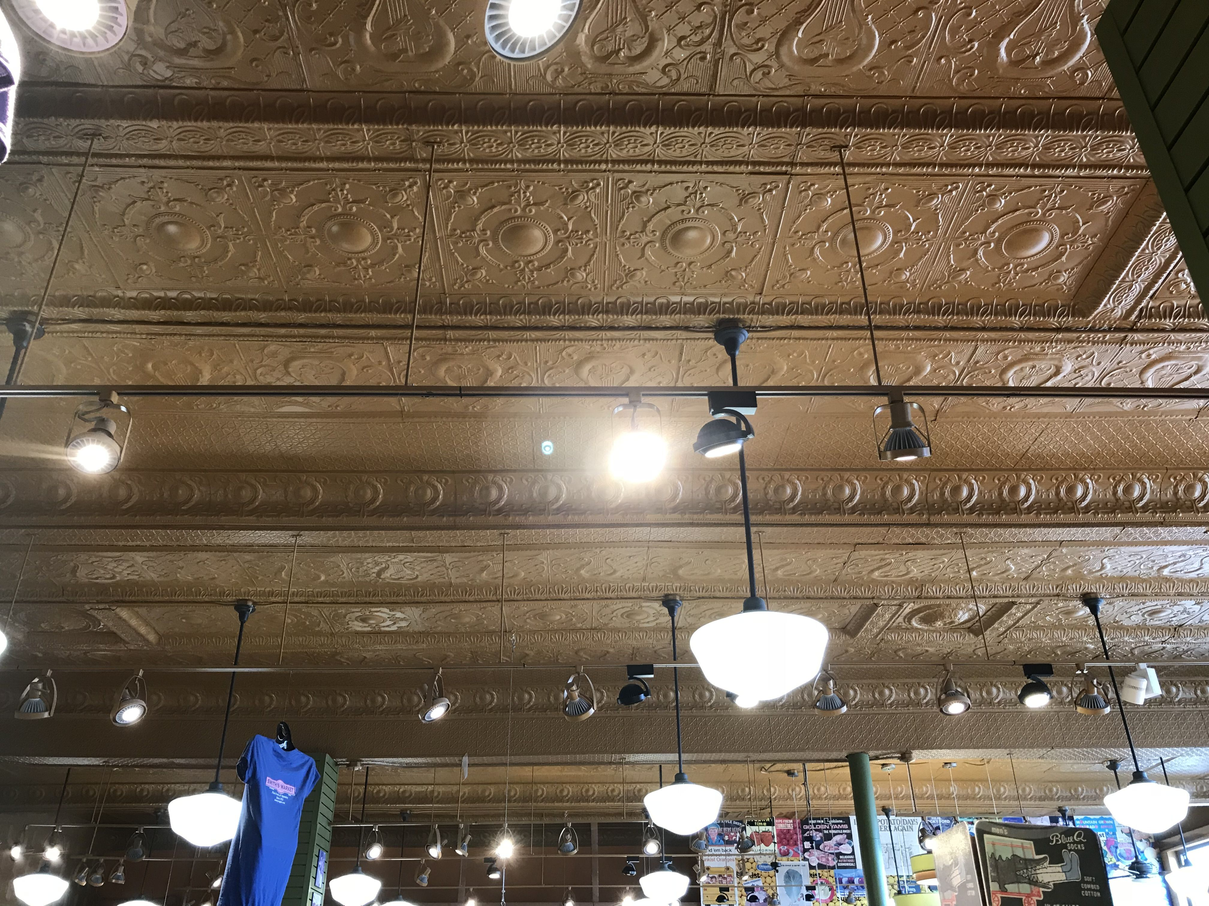 Smiths Market In Hutchinson Ks Combines Several Patterns On This