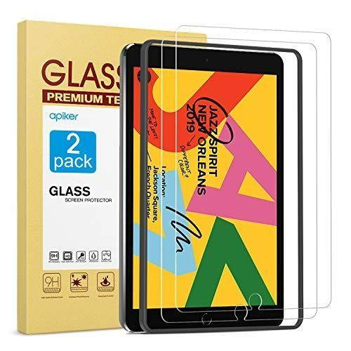 [2 Pack] Screen Protector for iPad 7th Generation 10.2 Inch (iPad 7) 2