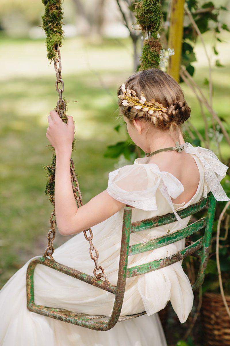Oportunidades impresionantes peinados comunion niña Galeria De Cortes De Cabello Estilo - Tocados adornos para Comunion. Diadema niña Comunión ...