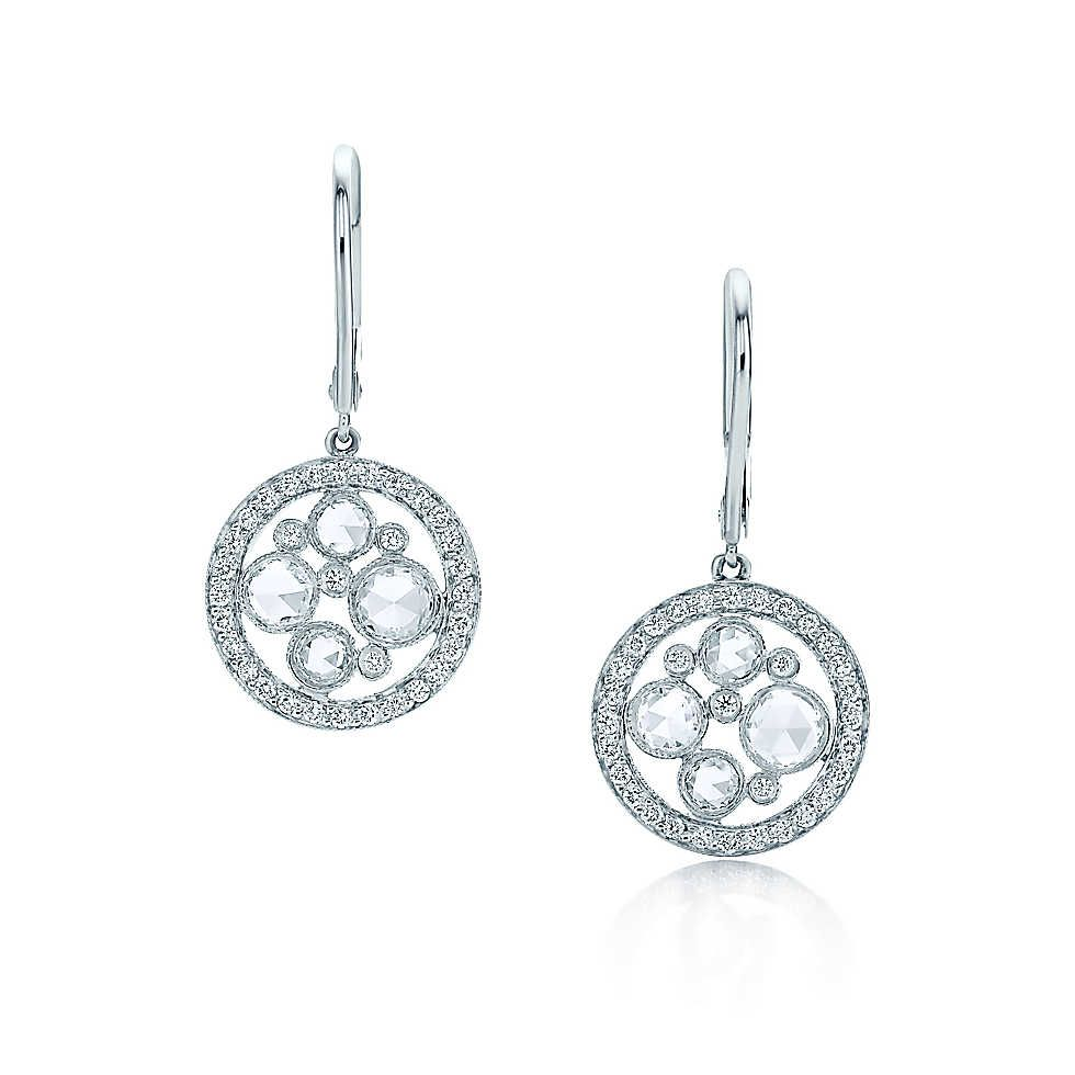 0549ef5b2 Earrings | Tiffany & Co. | Platinum earrings, Women's earrings, Earrings