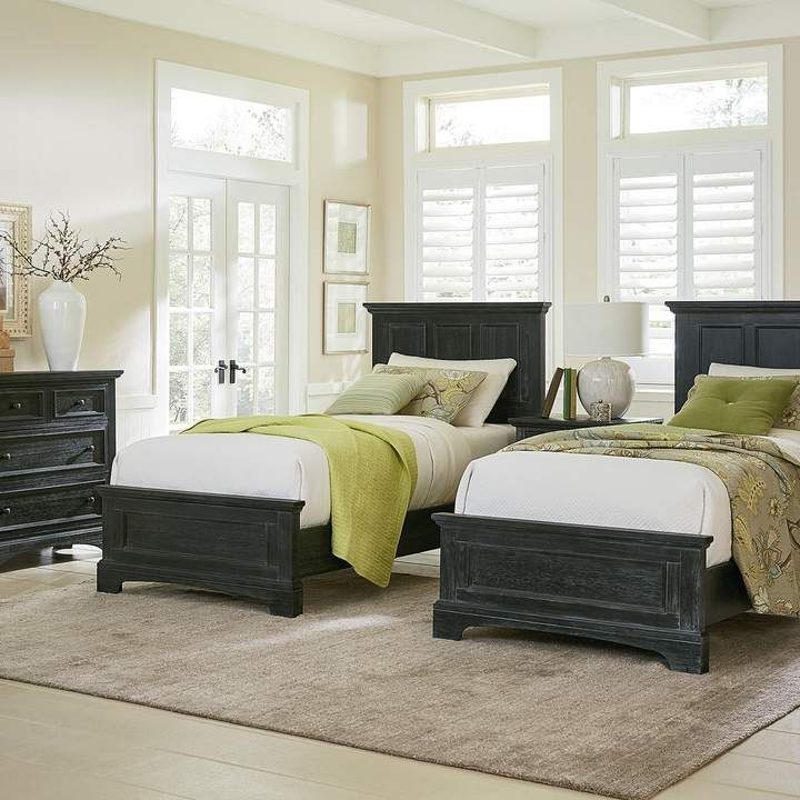 Inspired By Basset Farmhouse Basics Double Twin Bedroom Set Twin Bedroom Sets Twin Bedroom 5 Piece Bedroom Set