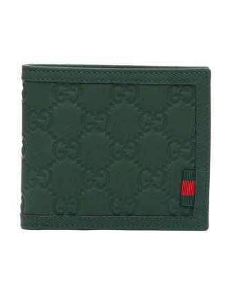 Gucci Wallet Green