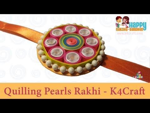 Diy Craft Ideas How To Make Beautiful Paper Quilling Rakhi