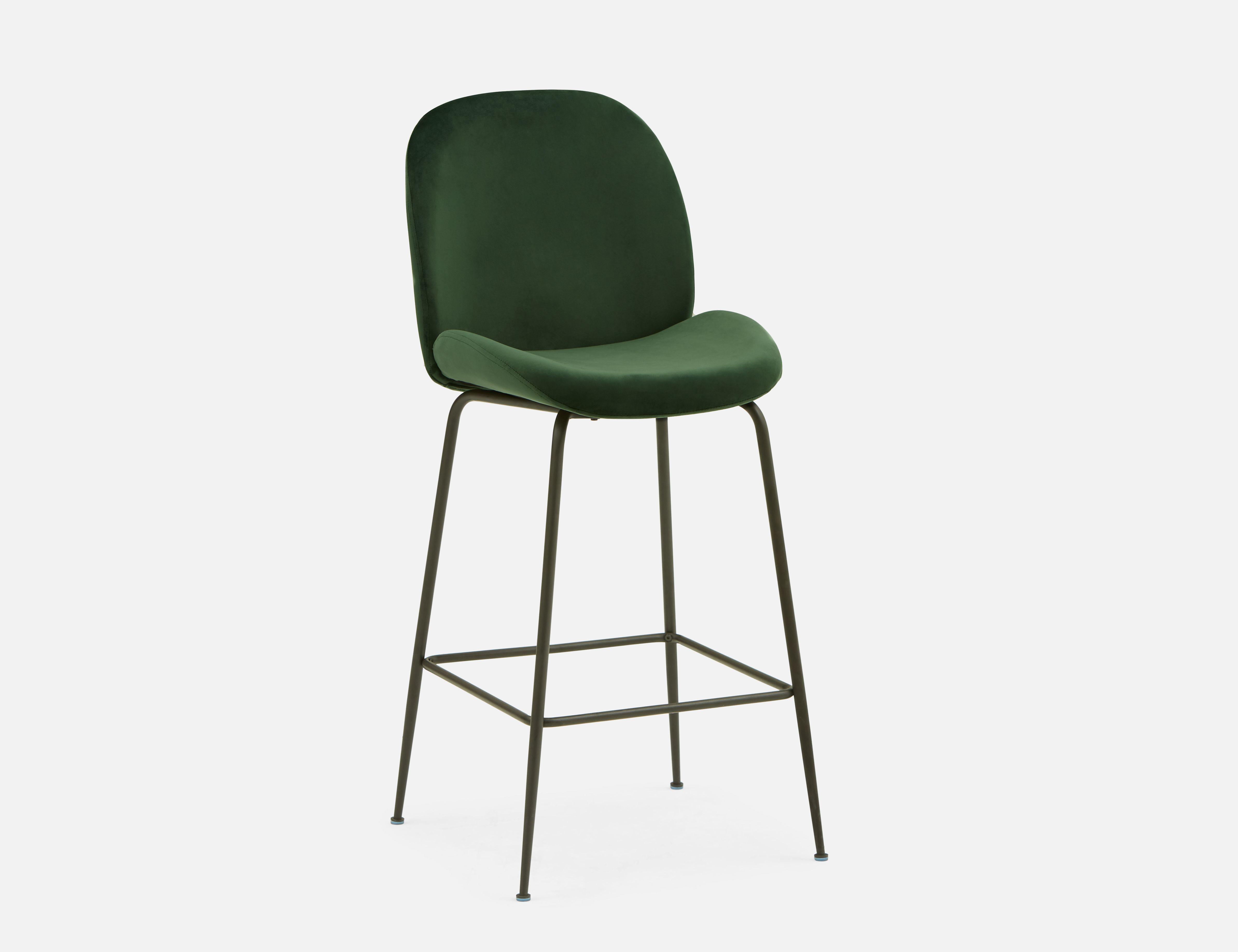Admirable Judith Green Velvet Bar Stool 78Cm Products In 2019 Bar Camellatalisay Diy Chair Ideas Camellatalisaycom