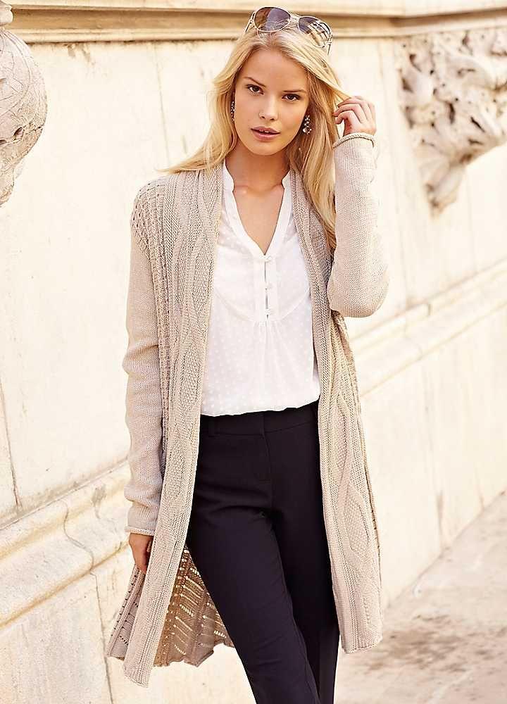 Waterfall Cardigan | Tops | Fashion | Kaleidoscope