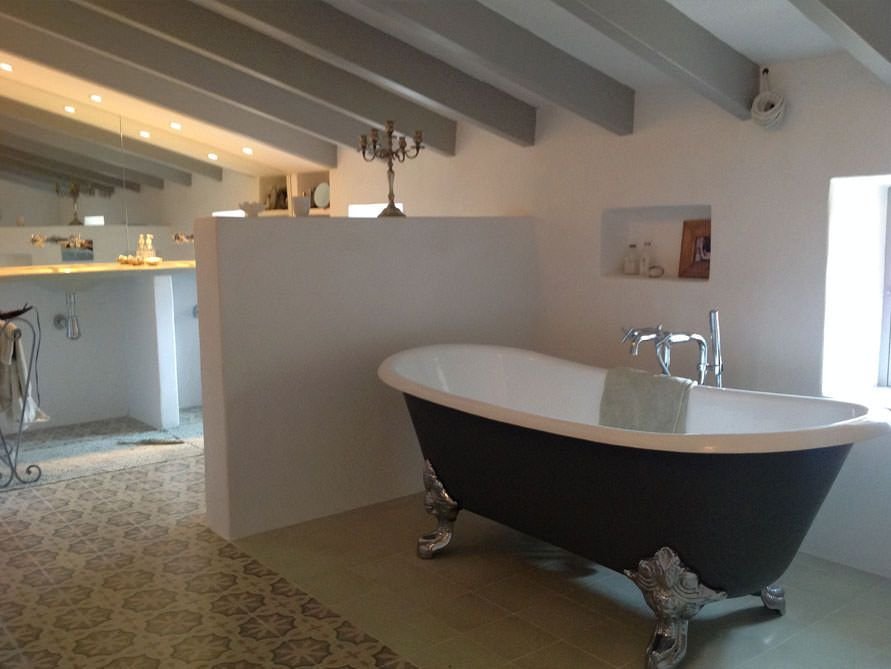 Bristol | Gusseisen badewanne, Freistehende badewanne und Gusseisen | {Badewanne halb freistehend 88}