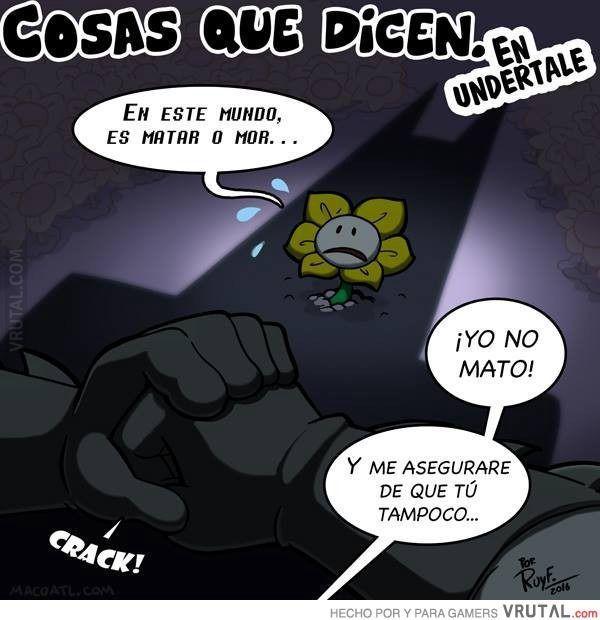 resultado de imagen de meme de undertale en español muchas cosas