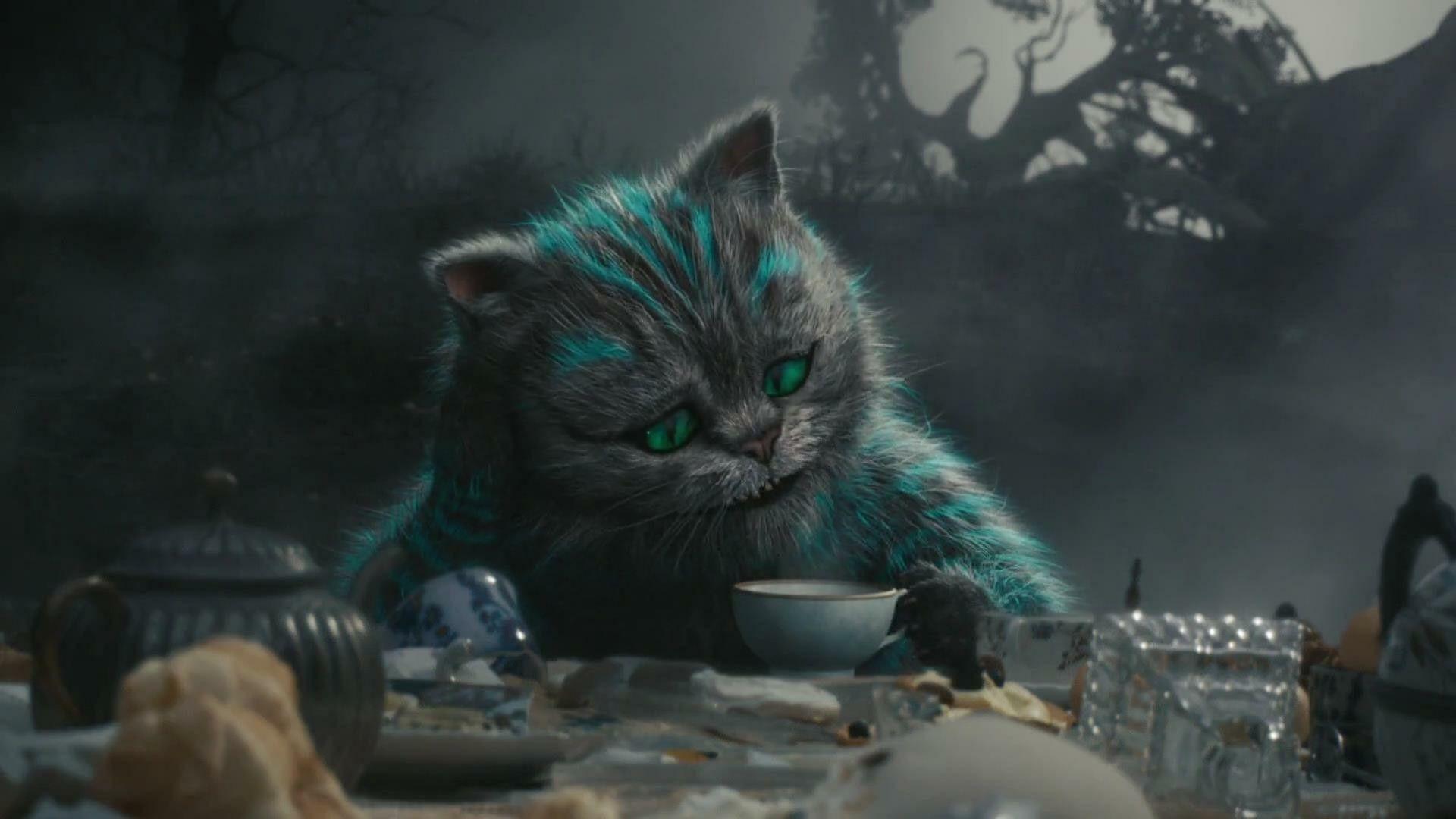 картинка шляпник чеширский кот уже дисков