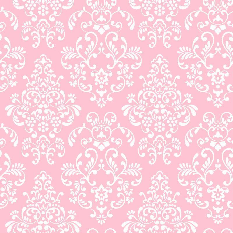 York Wallcoverings Kd1754 Delicate Document Damask Wallpaper Pink White Home Dec Papel De Parede Cor De Rosa Papel De Parede Decoracao Papel De Parede Branco