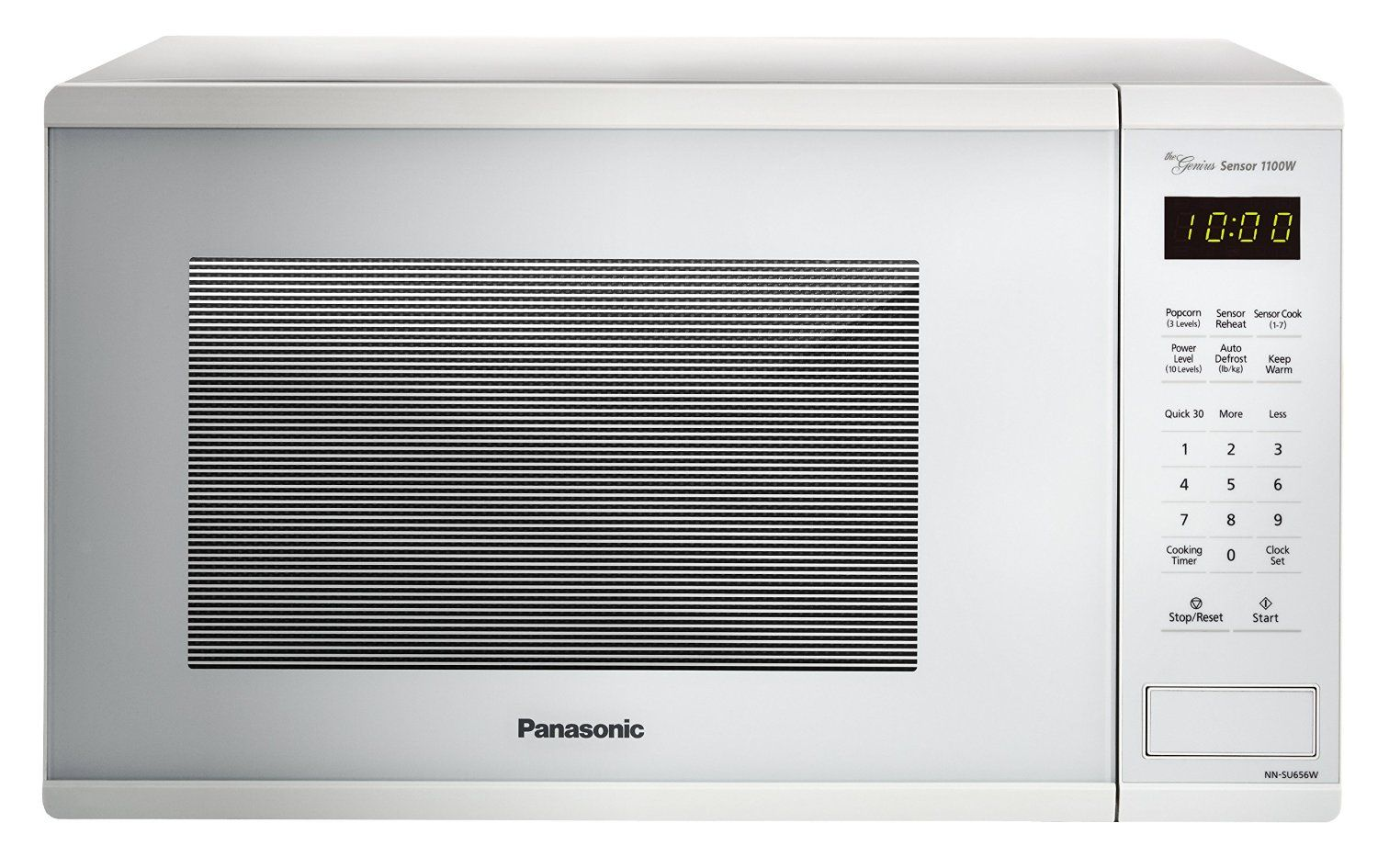 Panasonic Nn Su656w Countertop Microwave Oven With Genius Cooking Sensor And Popcorn Button 1 3 Countertop Microwave Countertop Microwave Oven Microwave Oven