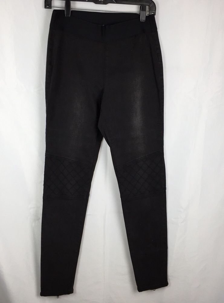 938e49ac99f294 CAbi Jeans Moto Jeggings Zepplin Womens 8 Black Quilted Knees NEW! $68 # fashion #clothing #shoes #accessories #womensclothing #jeans (ebay link)