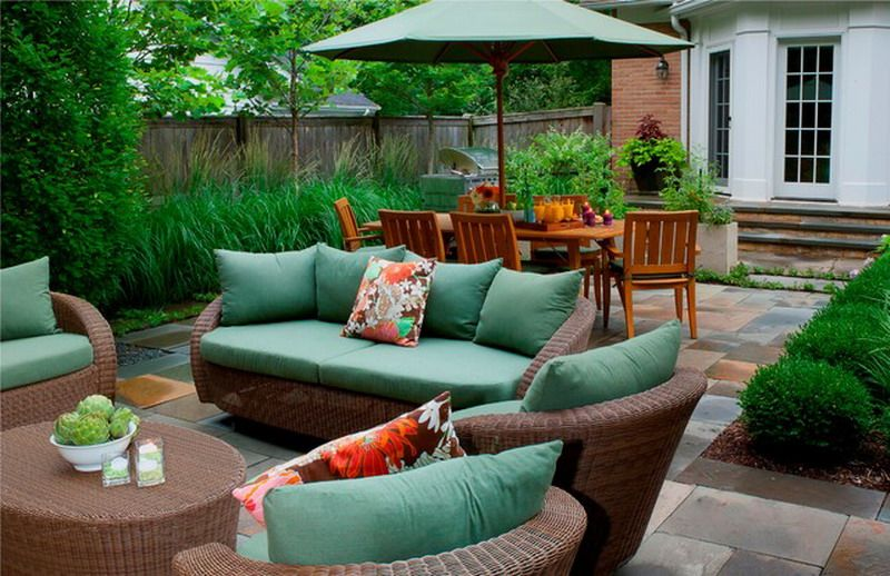 Comfortable Outdoor Patio Furniture Sets For Small Es
