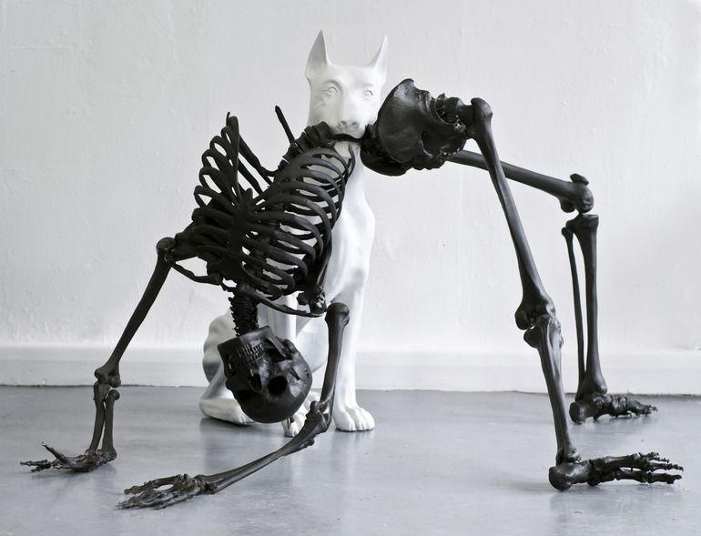 sculptures by Adam Rushton