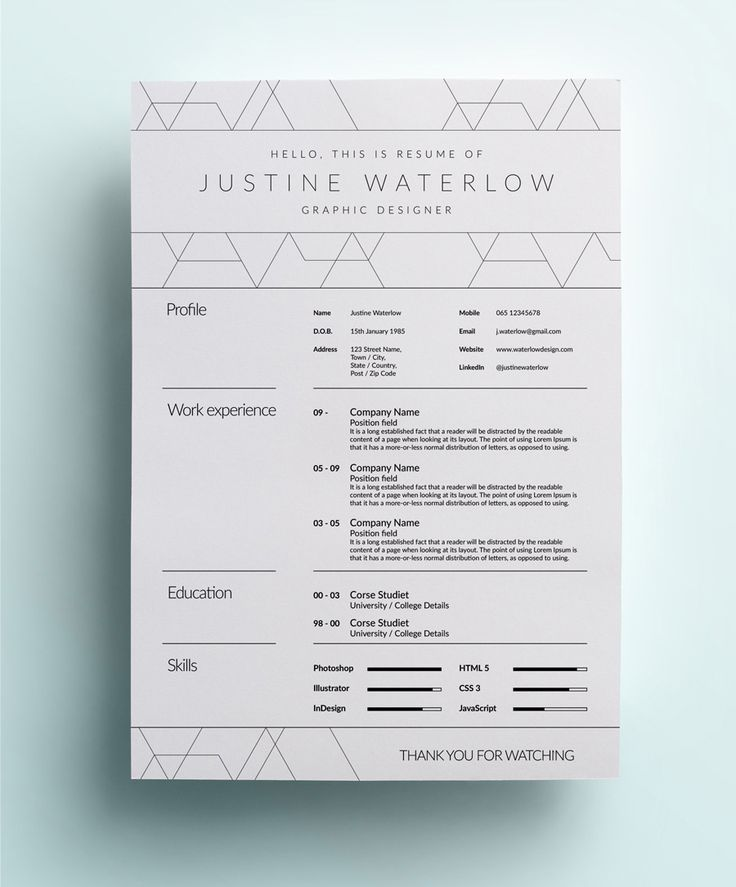 The Creative CV (A Little Opulent) Creative cv, Fonts and Cv - the best font for resume