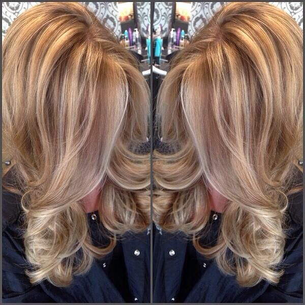 Golden Blonde With Lowlights By Jolene Things I Like In