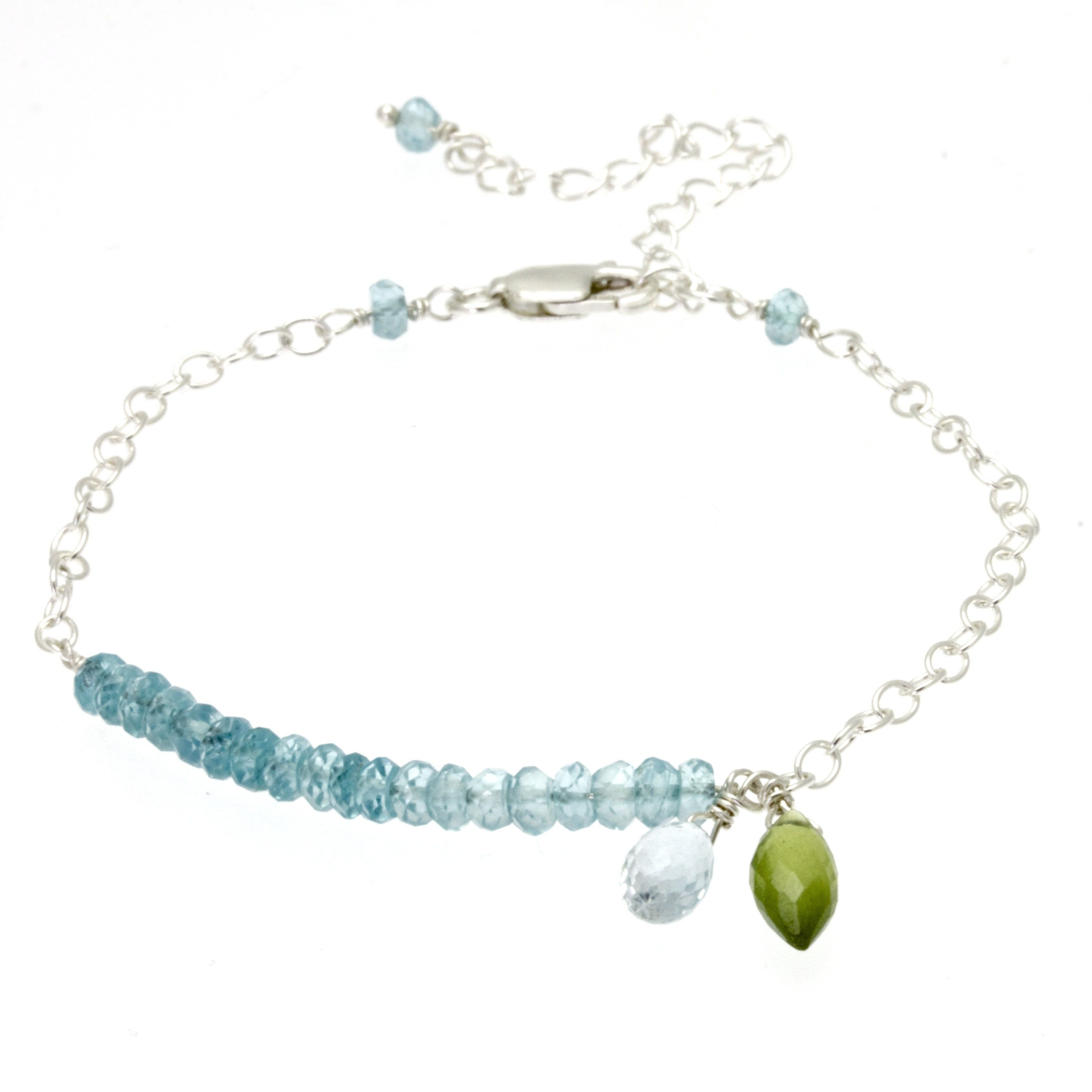 img super melody no chain jewellerybyzm seven jewellery reviews anklet double sterling satellite silver aquamarine stone collections gemstone