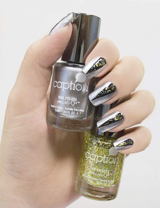 Chic New Years Eve Nails Designs to try | Nails and Nail Art | Pinterest