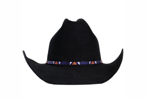Black Cowboy Hat With Beading By Greeley Hat Works In 2020 Black Cowboy Hat Cowboy Hats Black Cowboys