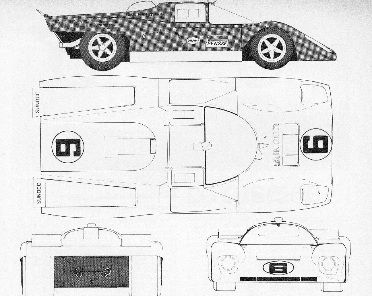 Ferrari 512 m racing car blueprint pinterest esquemas ferrari 512 m malvernweather Gallery