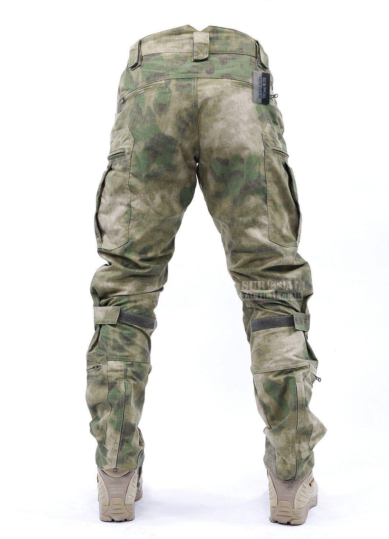 Amazon Com Survival Tactical Gear Airsoft Wargame Pantalones Tacticos Para Hombre Con Sistema De Proteccion De Rodill Ropa De Caza Ropa Militar Ropa Tactica