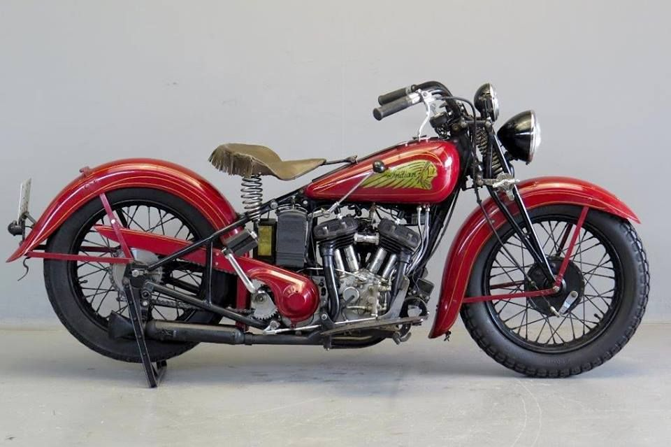1935 Indian Sport Scout 750 With Images Indian Motorcycle