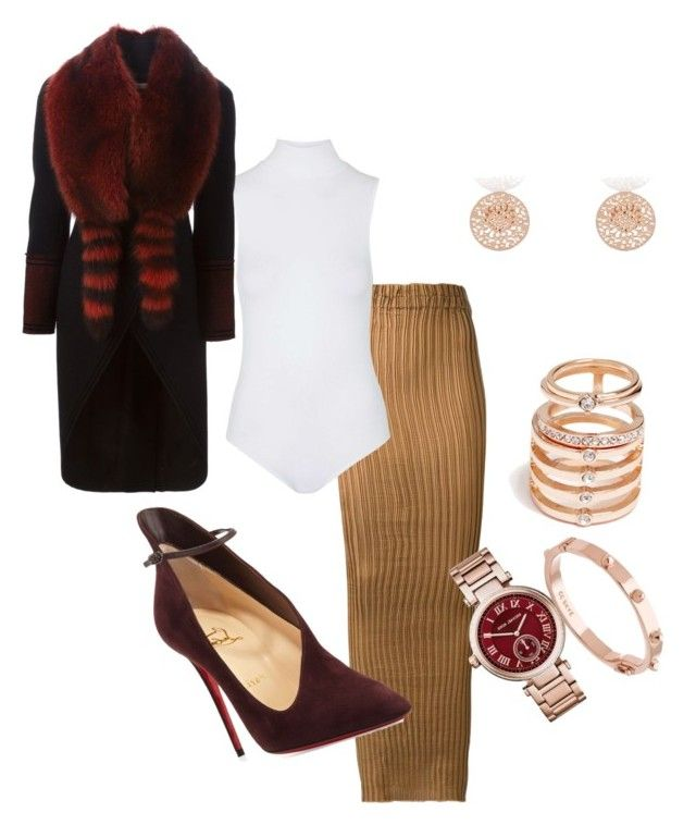 """""""The more the merrier"""" by styledbybrea on Polyvore featuring Iris van Herpen, Topshop, Givenchy, Michael Kors, CC SKYE, GUESS, River Island and Christian Louboutin"""
