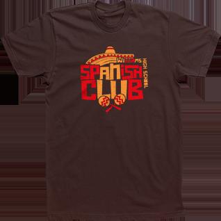 Sombrero and Maracas Custom Spanish Club Español Espanol T-shirt Tee High School Design