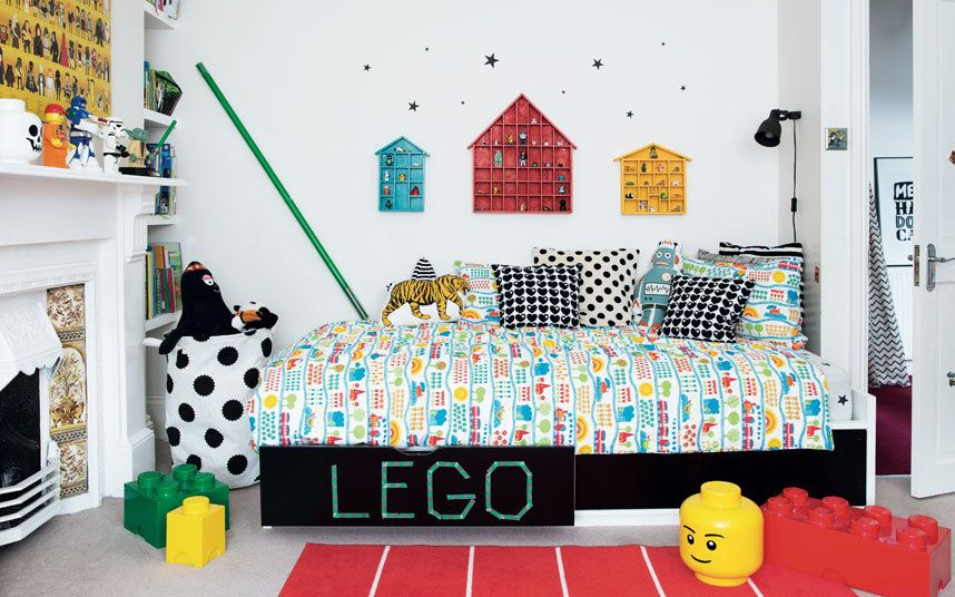 Great advice on turning messy kids' bedrooms into fun, colourful spaces!