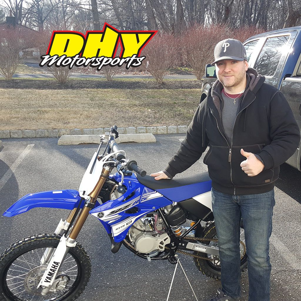 Congratulations To Aimee From Freehold On This 2016 Yamaha Yz85 Enjoy A Bike Ready To Race Right Out Of The Crate Thank You For Making New Honda Yamaha Ktm